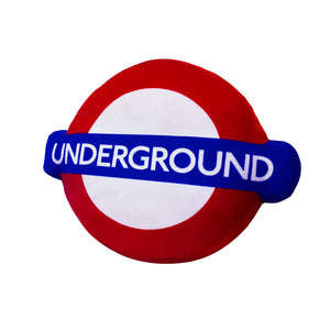 Underground Roundel Cushion