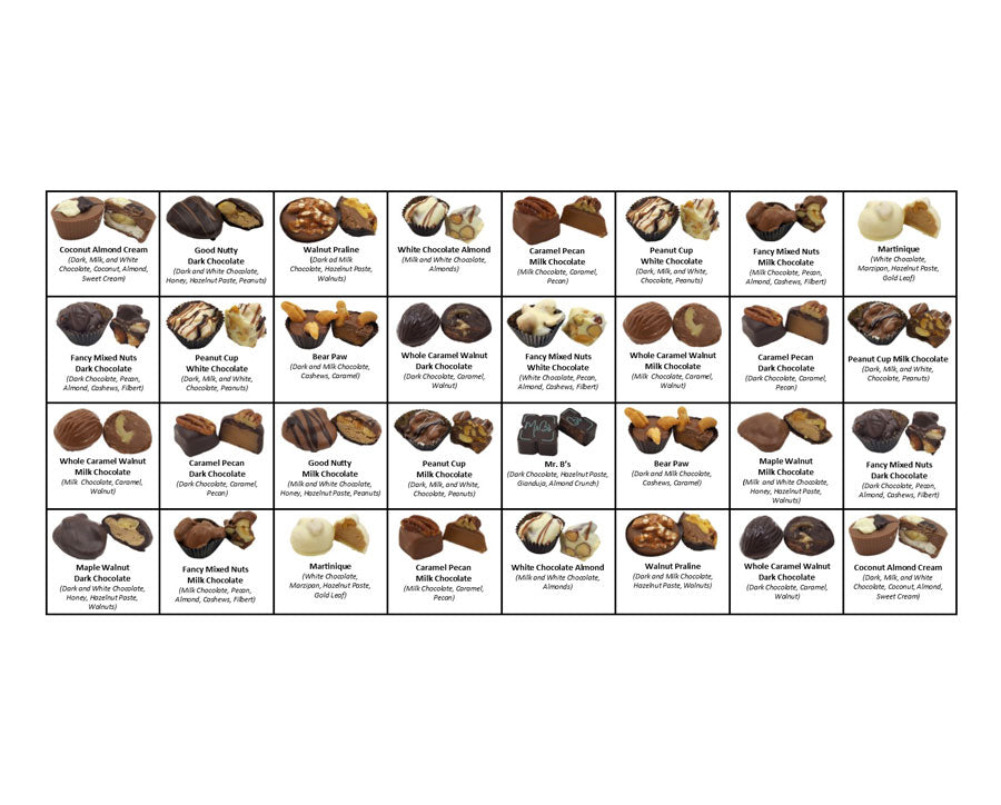Nut Collection - 32 piece