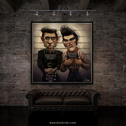 Cash and King Mugshot | Limited