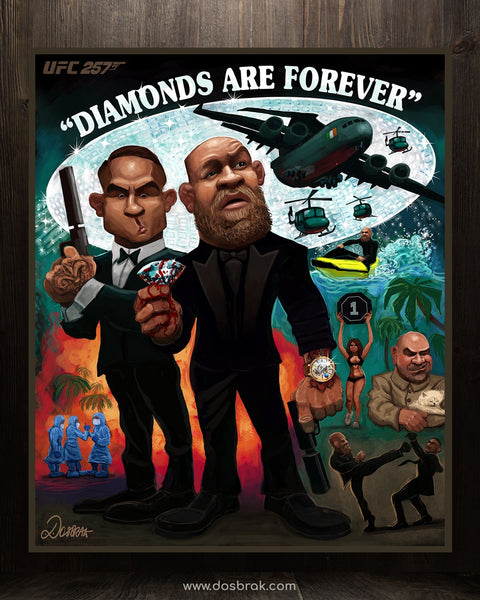 Diamonds are Forever UFC 257 - Limited