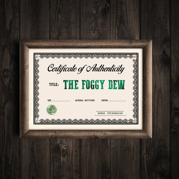 The Foggy Dew - Limited