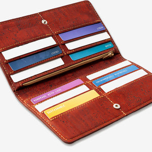Women's Cork Wallet - Slim