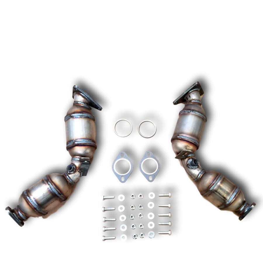 2014-2018 Infiniti Q70 Bank 1 and 2 Catalytic Converter 3.7L V6 PAIR