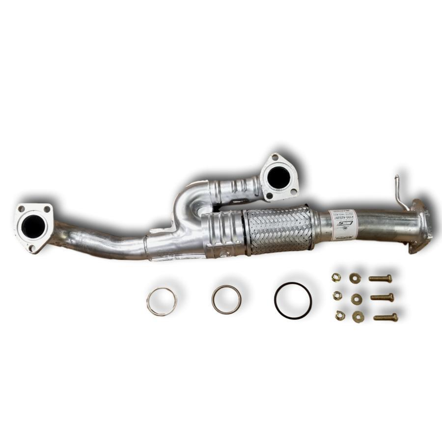 2010 to 2014 Acura TL SH-AWD exhaust flex pipe 3.7L V6 AUTOMATIC TRANSMISSION