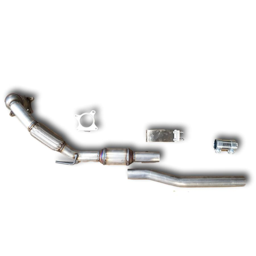 VW Jetta 2.0T catalytic converter 2006-2010