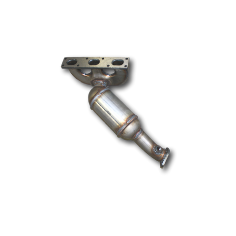 BMW 330i Rear 3.0L Catalytic Converter Left Side View