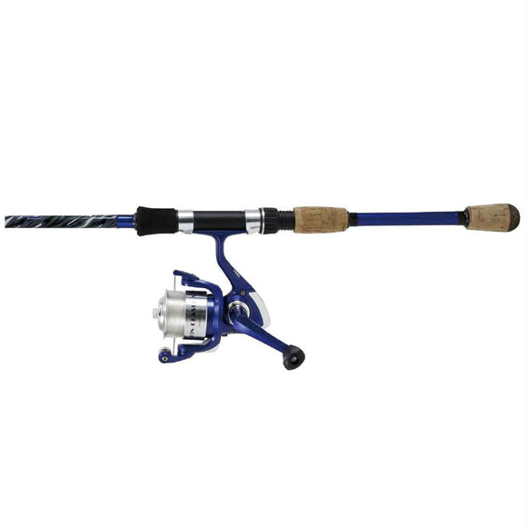 Okuma Fin Chaser X Series Combo 6'6ft 2pcs Blue