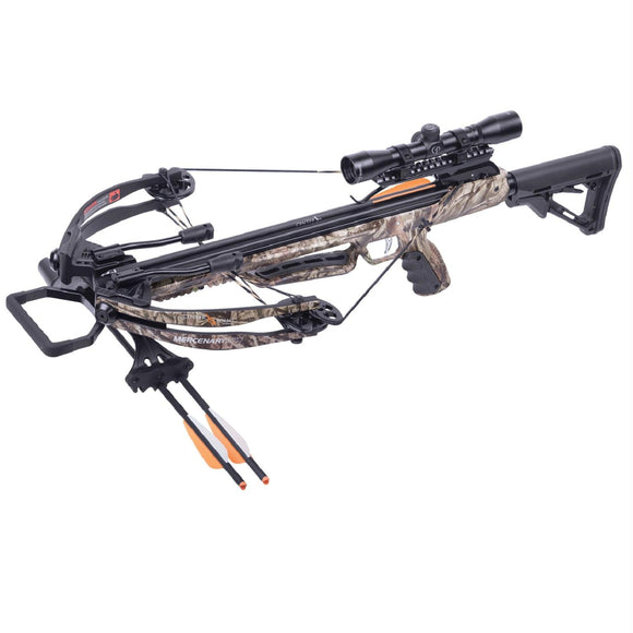 Crosman Mercenary 370 Crossbow - Camo