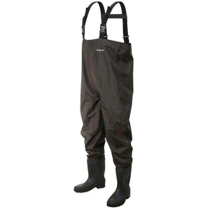 Frogg Toggs Rana II PVC Chest Wader Cleated Sz 7