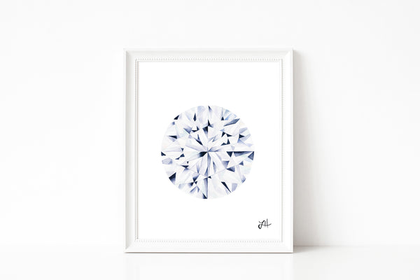Diamond painting, watercolor painting, abstract art
