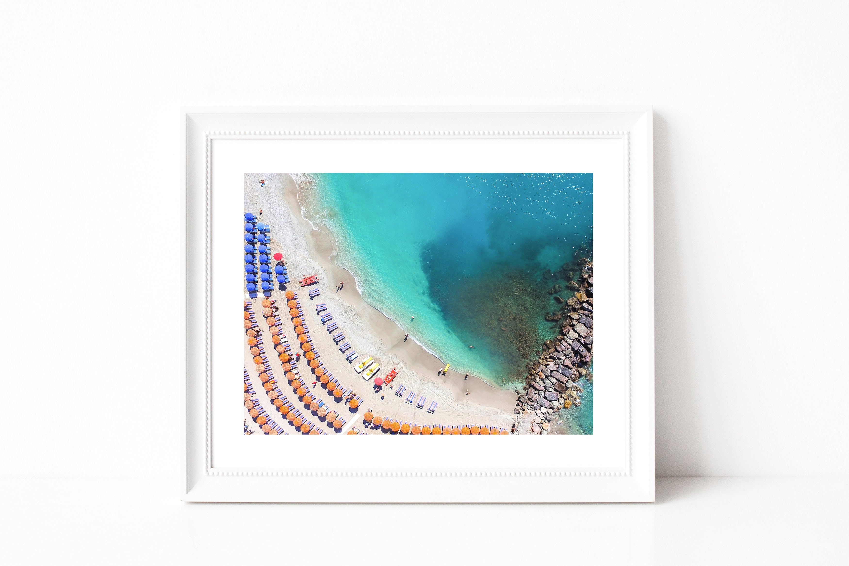 Cinque Terre Beach Photography I - Photography Print