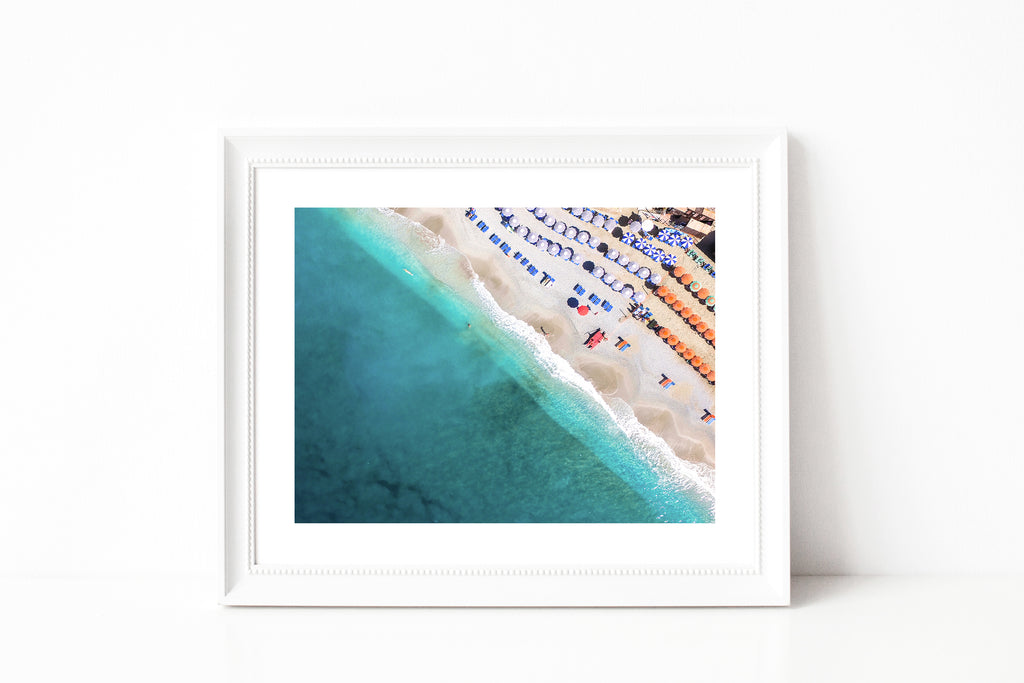 Cinque Terre Beach Photography II - Photography Print