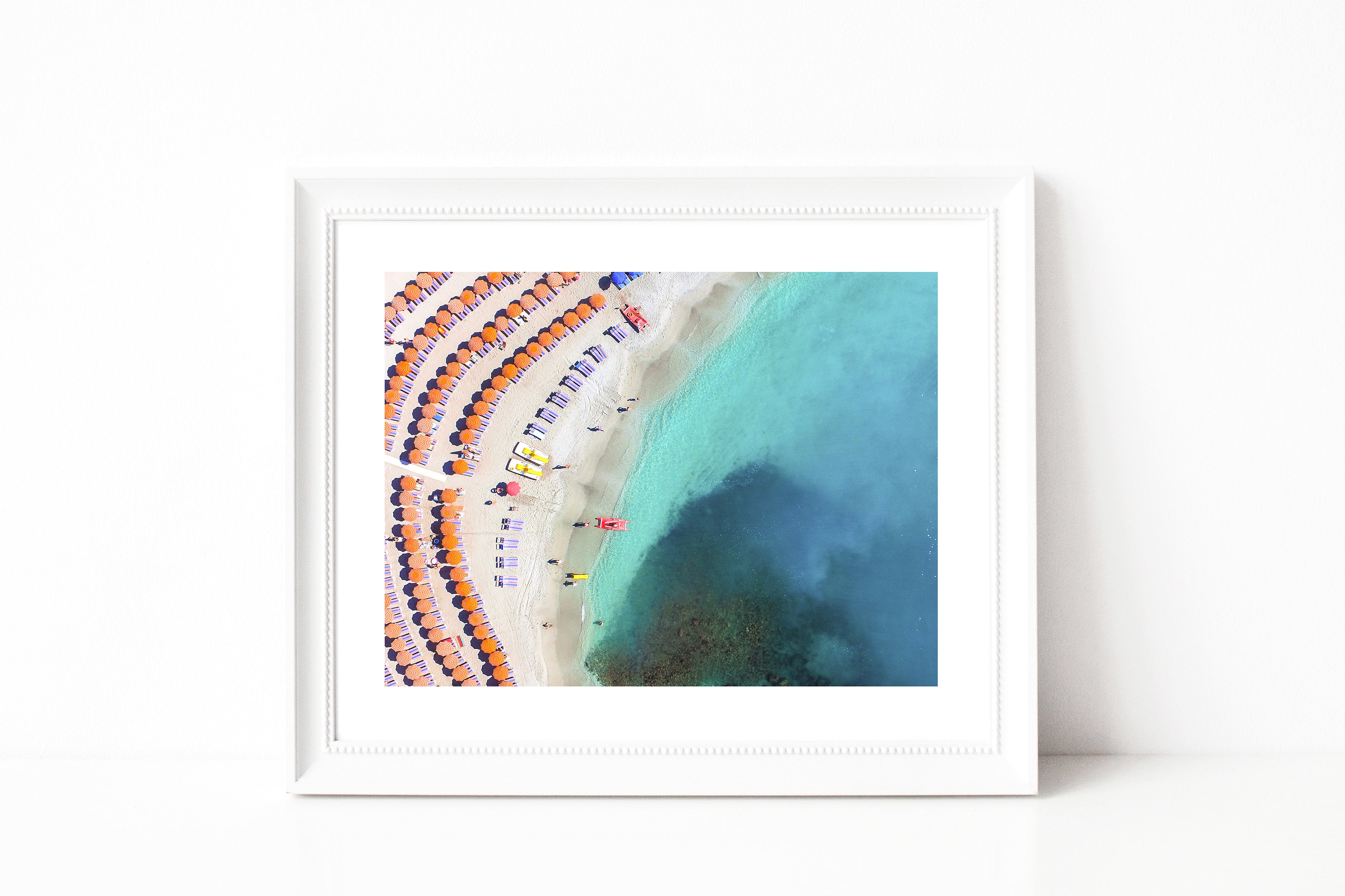 Cinque Terre Beach Photography III - Photography Print