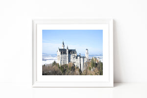 Germany Neuschwanstein Castle Photography - Photography Print