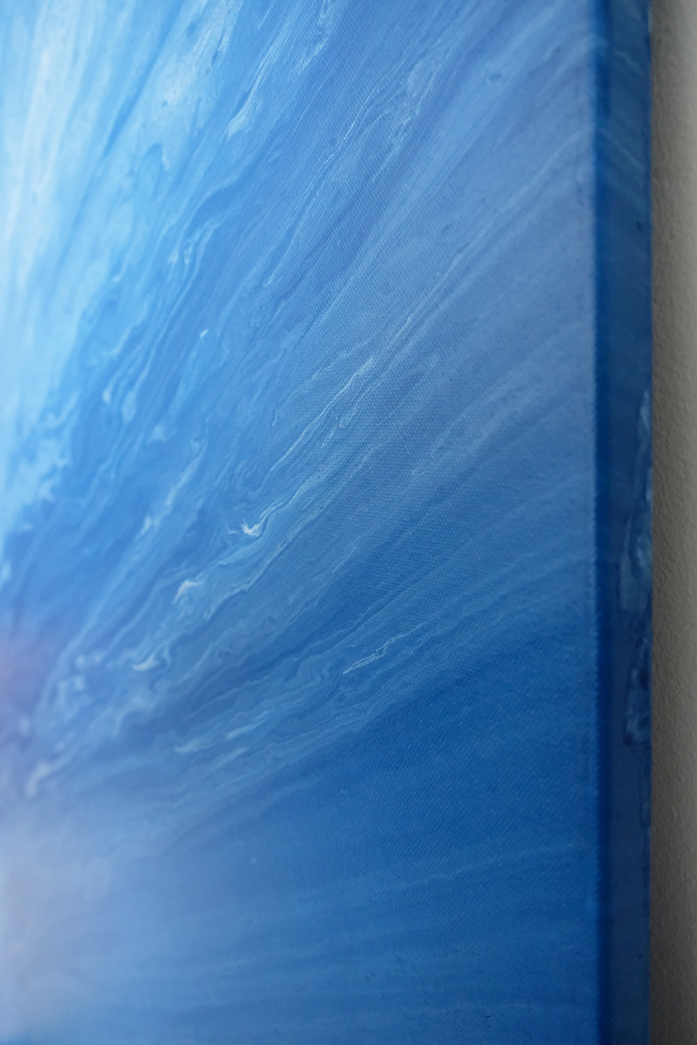 Ocean IV Abstract Acrylic Painting - Original Painting 30 x 40 inches