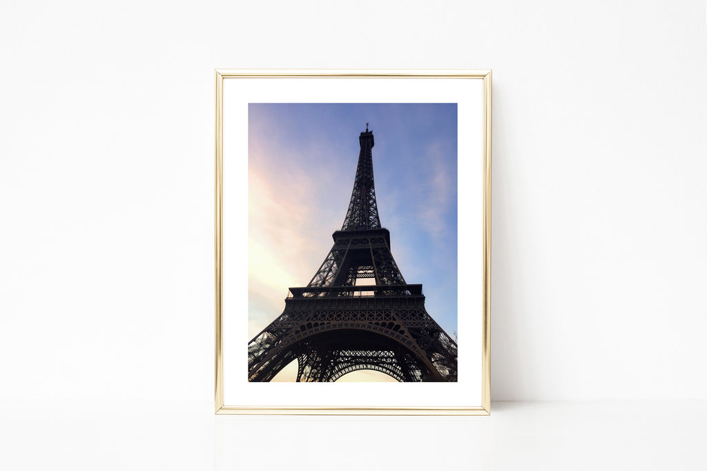 Paris Eiffel Tower Photography III - Photography Print