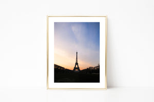 Paris Eiffel Tower Photography I - Photography Print