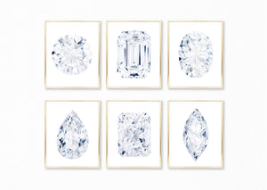 Watercolor Diamond Paintings Collection - Set of 6