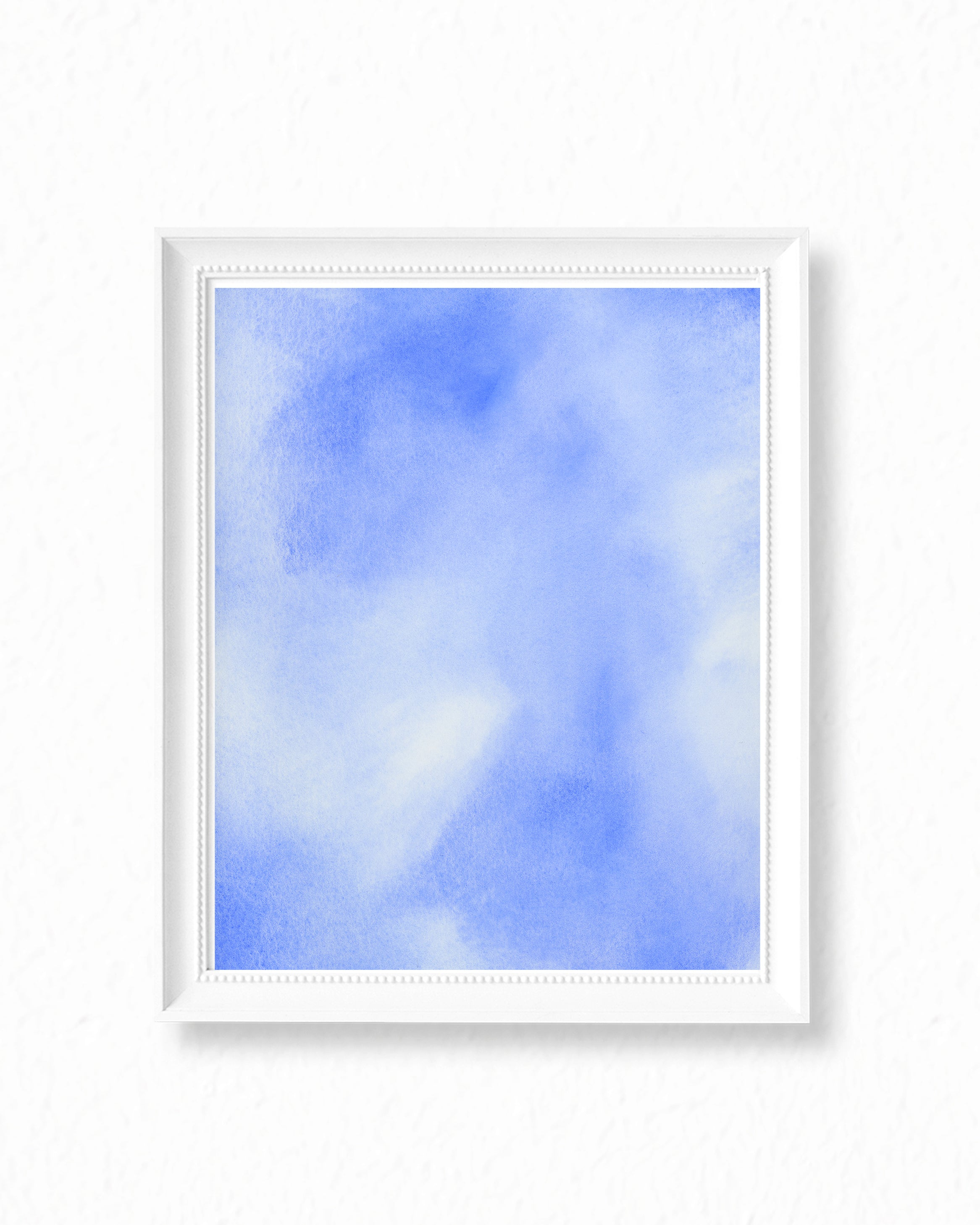 Sky I - Sky Abstract Watercolor Painting - Art Print