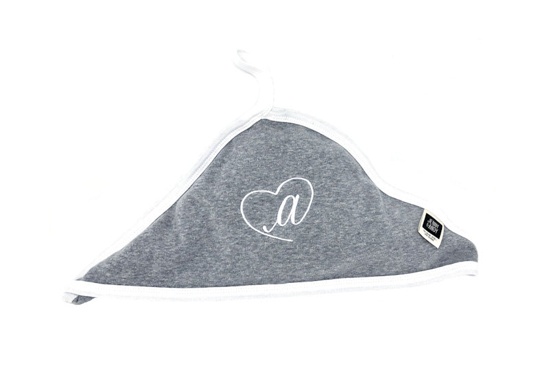 Organic Monogrammed Hooded Bath Towel