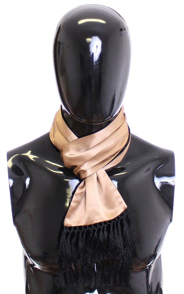 Scarf Men's Solid Beige