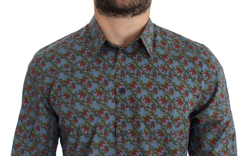 Blue Red Chilli GOLD Slim Fit Casual Shirt