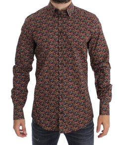 Red Egg Plant GOLD Slim Fit Casual Shirt