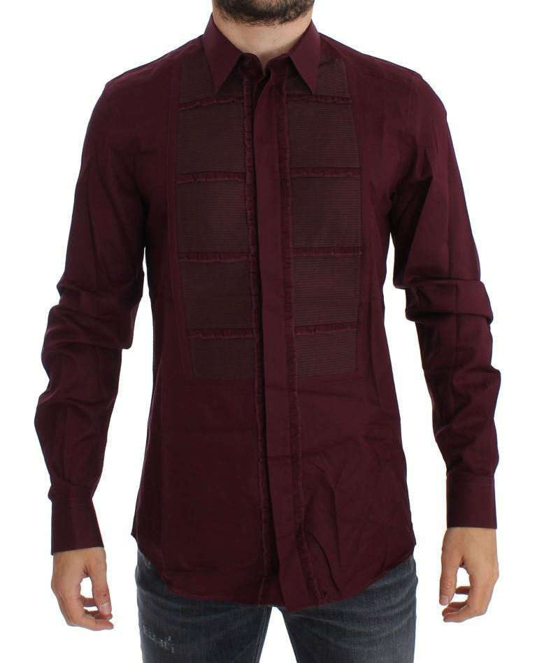 Bordeaux Torero GOLD Slim Fit Dress Shirt
