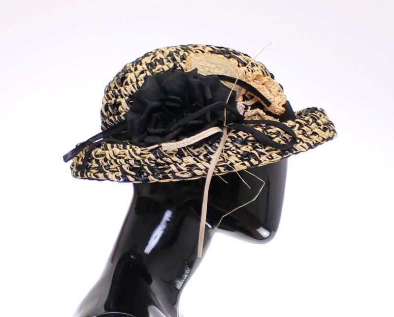 Multicolor Floral Fedora Trilby Hat