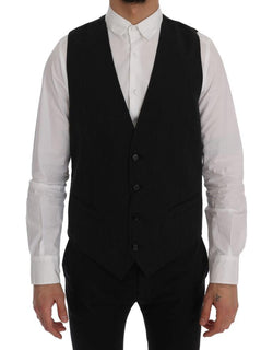 Black STAFF Cotton Rayon Vest