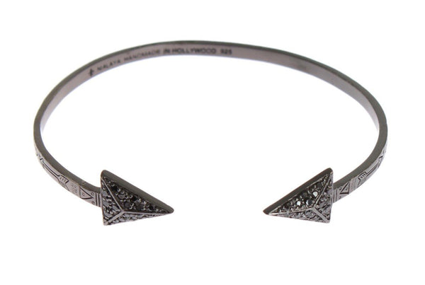 Arrow Crystal 925 Silver Bracelet