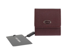Bordeaux Dauphine Leather Key Wallet