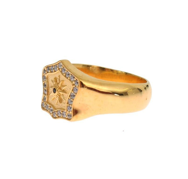 Gold Plated 925 Sterling Silver Ring