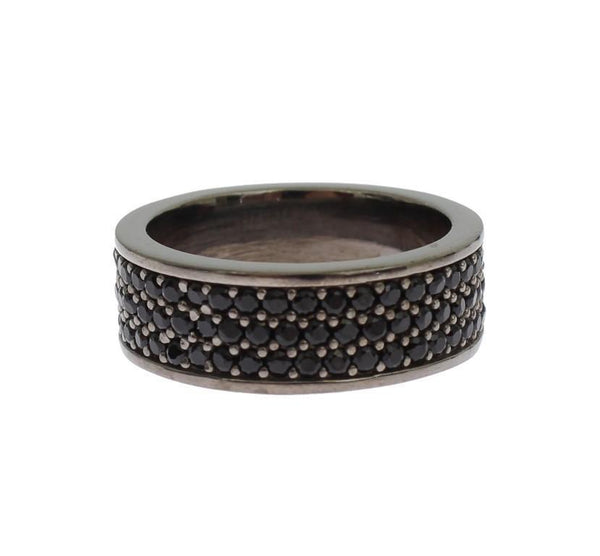 Black 925 Sterling Silver Ring