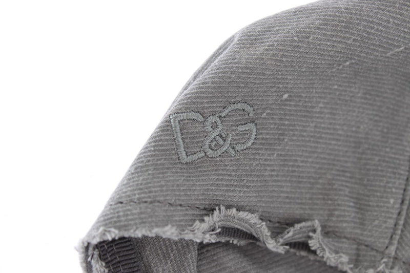 Gray Cotton Linen Newsboy Hat