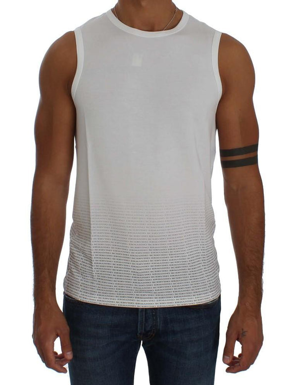 White Modal Stretch T-shirt