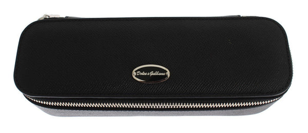 Black Leather Jewelry Sunglasses Case Box Bag Organizer
