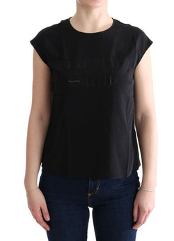 Black Enchanted SICILY Silk Blouse T-shirt