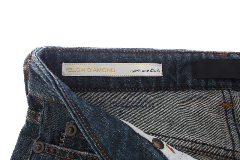 Blue Wash Straight Fit Regular Jeans