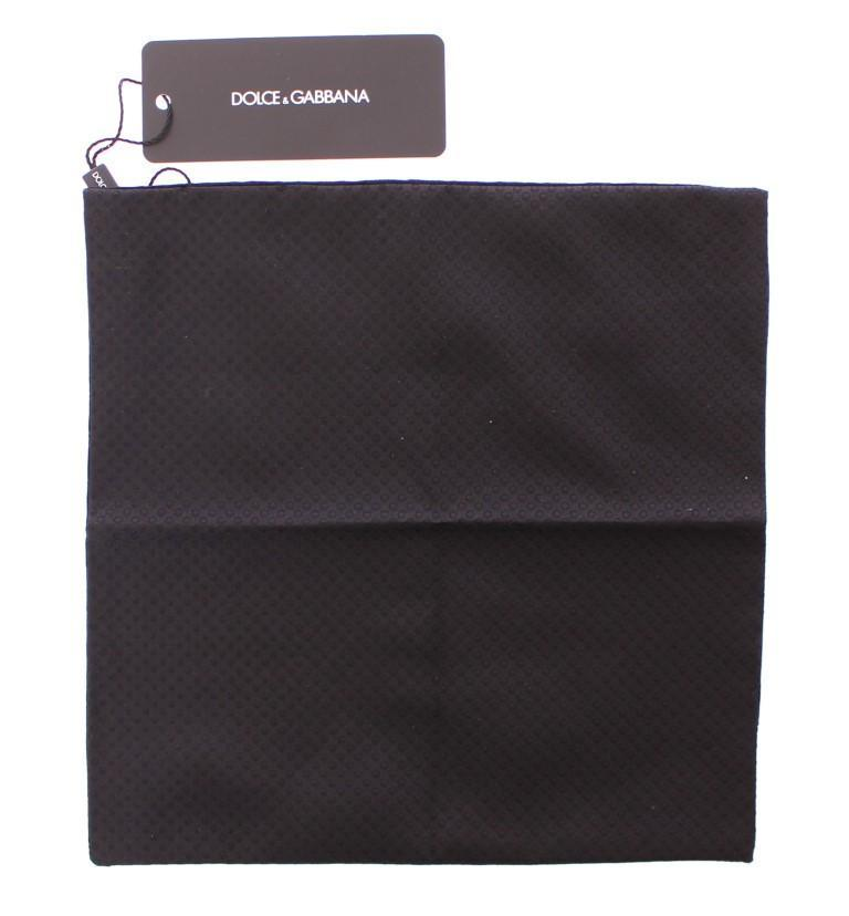 Black Silk Handkerchief