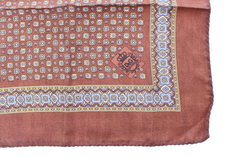 Brown Silk Handkerchief