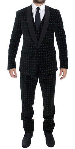 Green Velvet MARTINI 3 Piece Suit Tuxedo