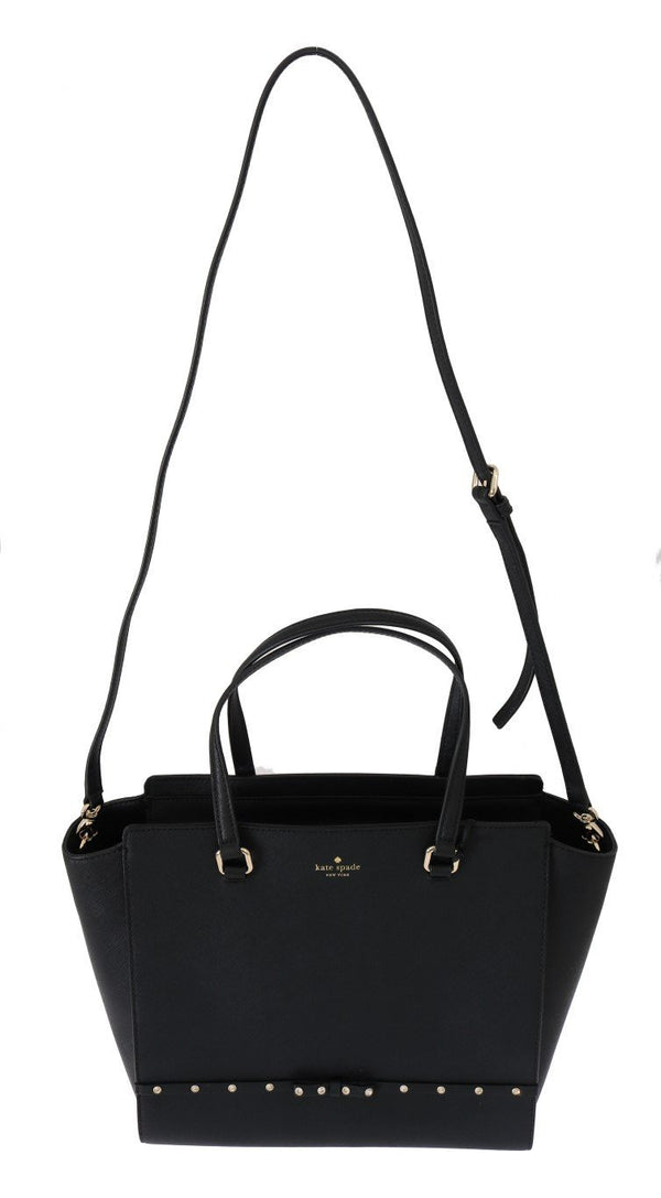 Black HANDLEE Leather Handbag