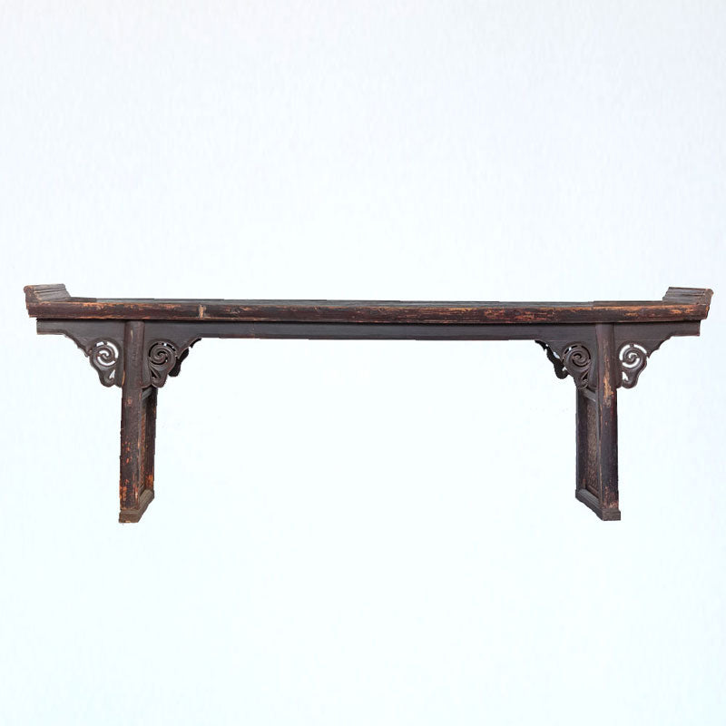 Antique Substantial Long Narrow Altar Table AD0416049-TABLES-Wu & McHugh