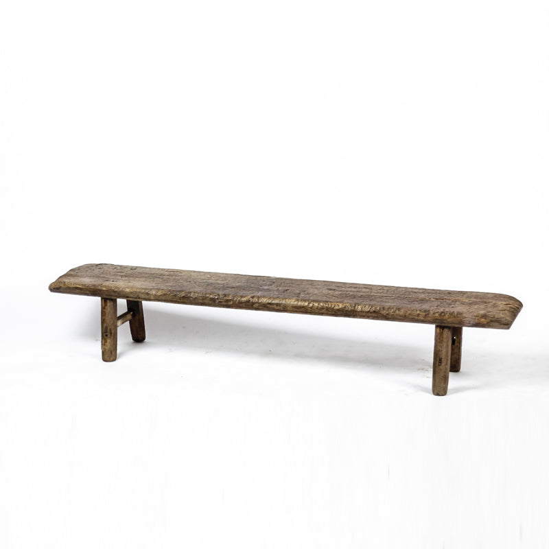 Vintage Long and Low Three Person Bench ADBLVB09201002