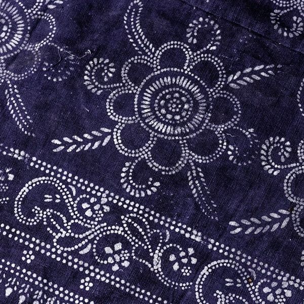 Vintage Indigo Cotton Fabric 11