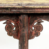 Antique Short Bench ADBAB09201401