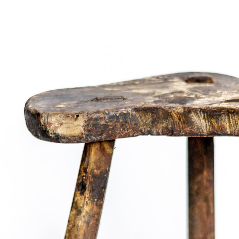 Vintage Rustic Three Leg Stool ADRVS09202917