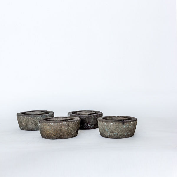 Antique Decorative Granite Stones Used to Keep Table Feet Off of Damp Floors BT0517102-TABLE DÉCOR-Wu & McHugh