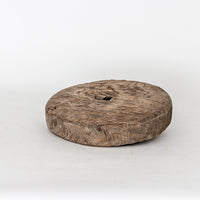 Antique Heavy Elm Push Cart Wheel YX1116027BA-TABLE DÉCOR-Wu & McHugh